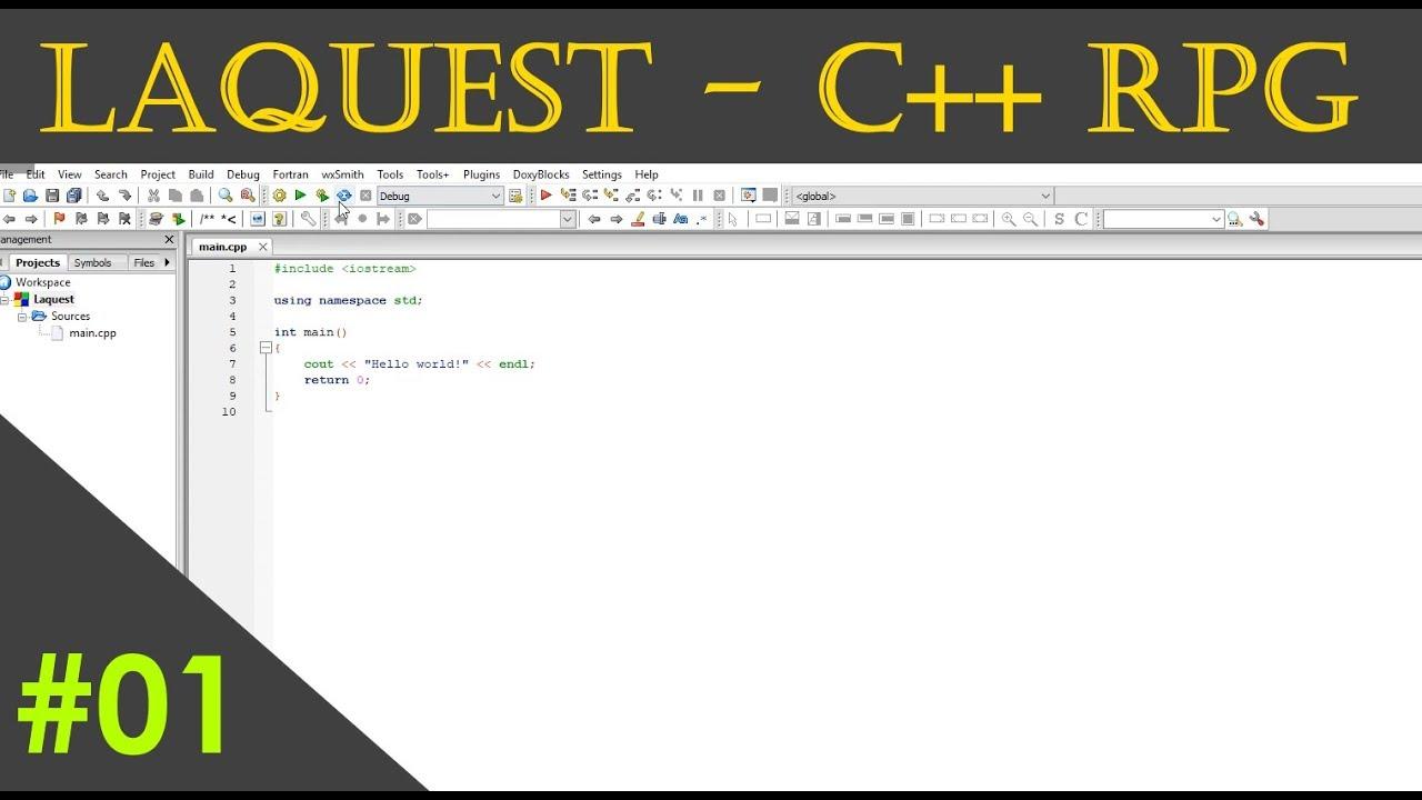 Laquest [RPG, C++, SDL2] - #1 - Facciamo un RPG?