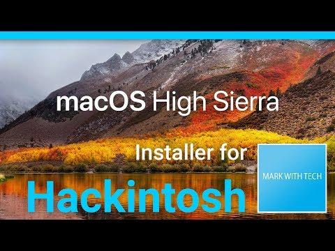 Install macOS 10 13 High Sierra (Final) on Hackintosh - YouTube