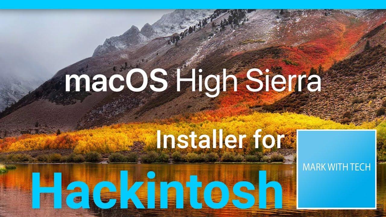 Install macOS 10 13 High Sierra (Final) on Hackintosh
