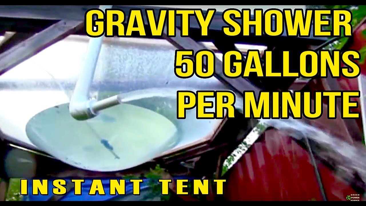 Large Gravity Outdoor Shower Instant Tent and water parabola & Large Gravity Outdoor Shower Instant Tent and water parabola ...