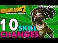 Top 10 Best Character and Class Skill Changes for Borderlands 2's Community Patch 4.1 #PumaCounts