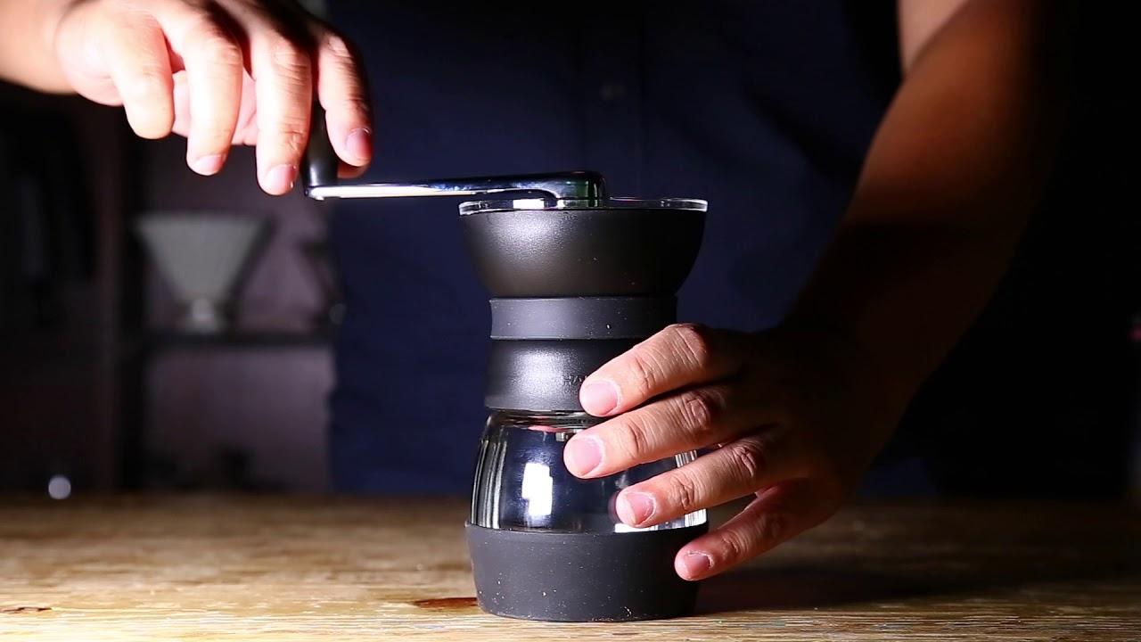 HARIO MMCS-2B Ceramic Coffee Mill 手搖磨豆機推薦 臺灣總代理:臺玻哈利歐 - YouTube