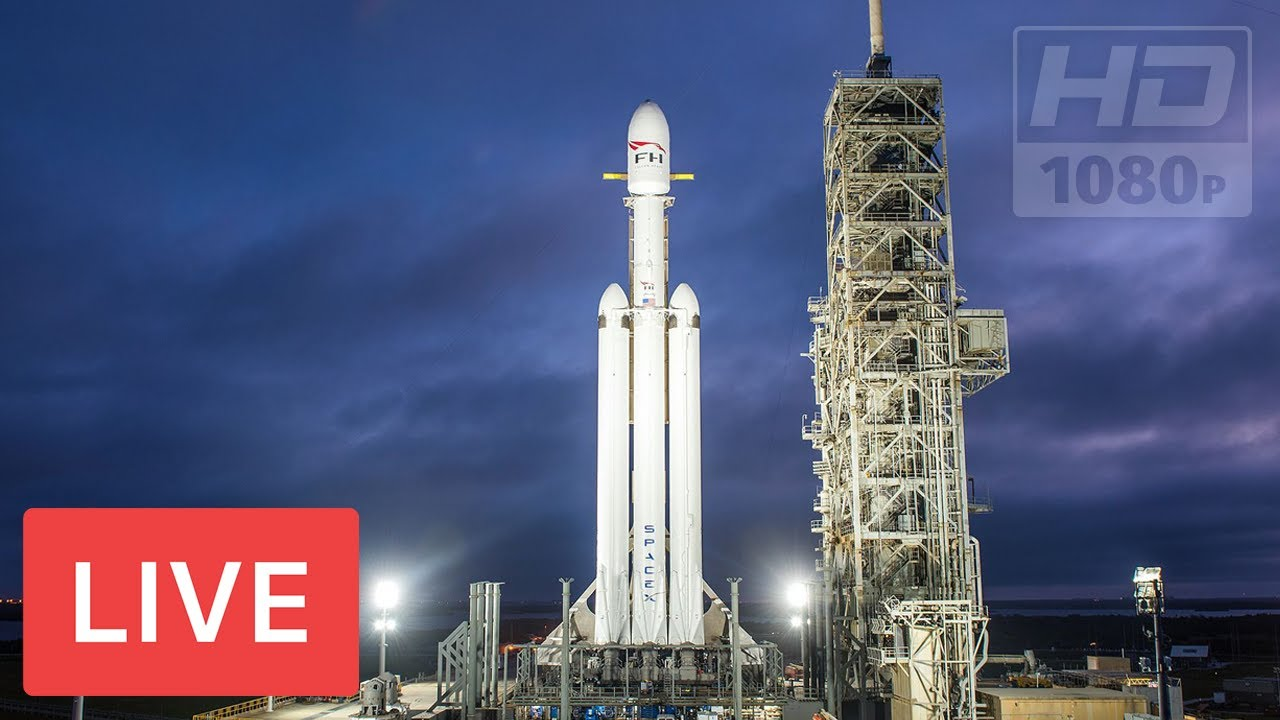 Watch SpaceX Launch a Falcon Heavy on Its First Real Mission