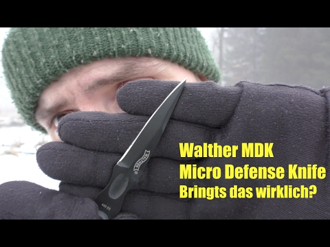 Walther MDK Micro Defense Knife - Vorstellung