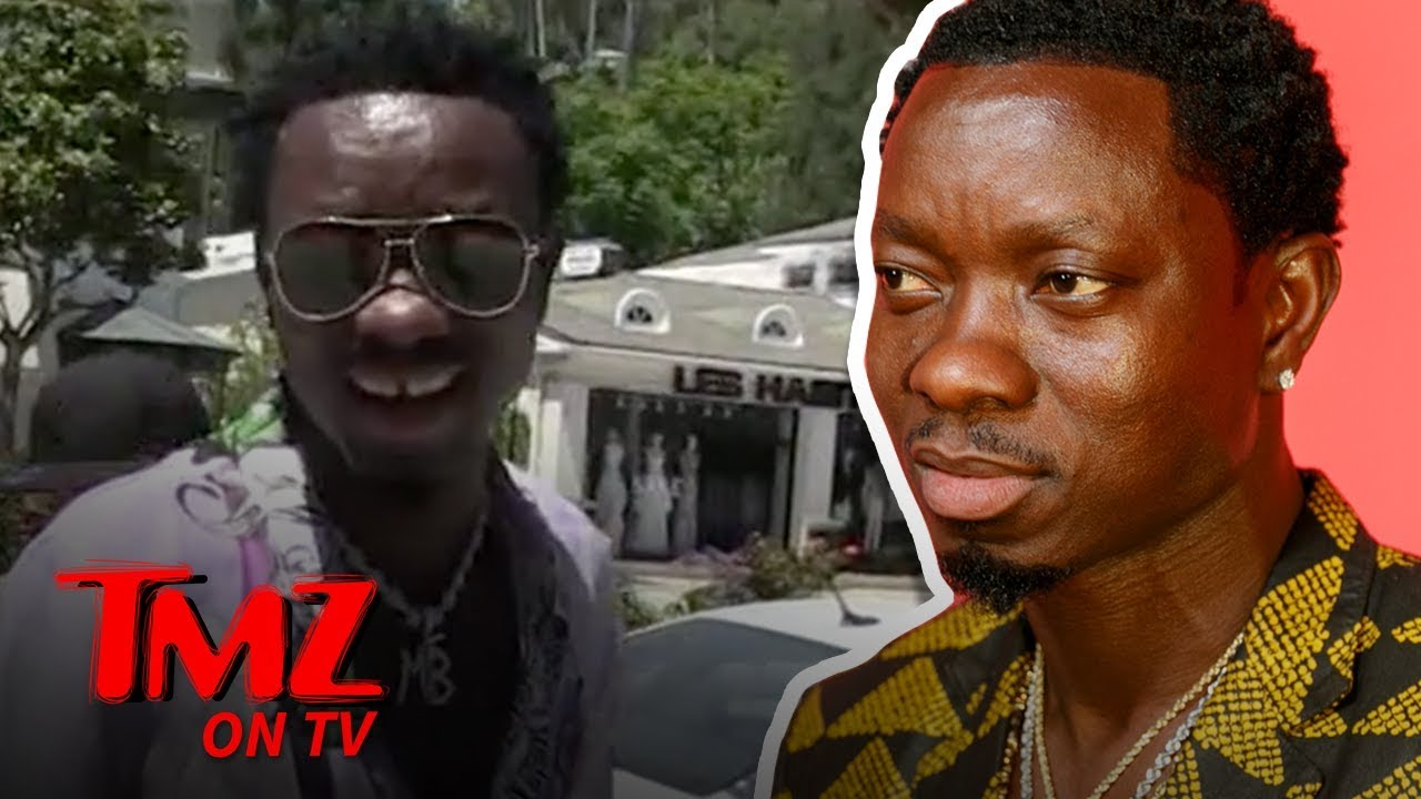 Michael Blackson To Join 'Coming to America' Sequel?! | TMZ TV