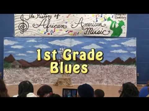 George Hall Elementsry School   The History of African American Music