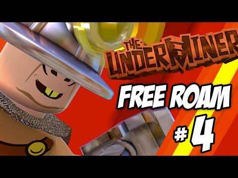 LEGO INCREDIBLES Free Roam Gameplay Part 4 The Underminer! - 동영상