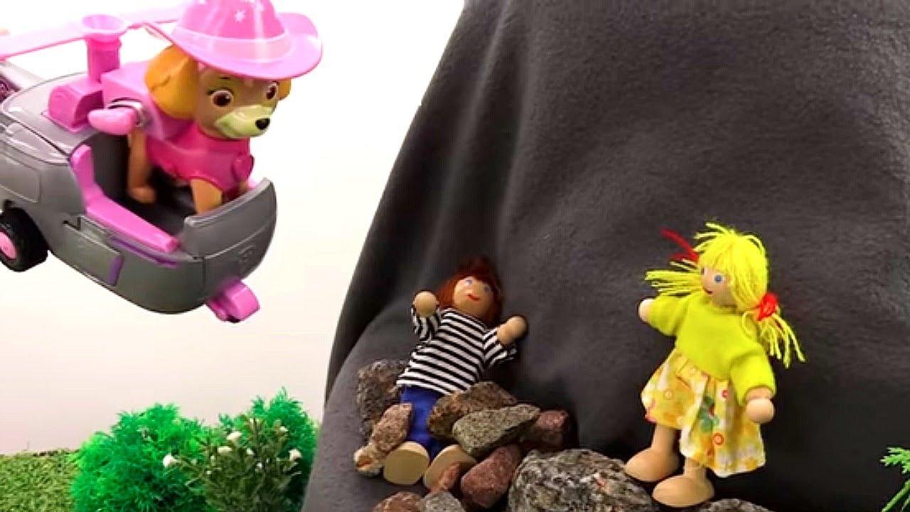 Щенячий Патруль: спасение в горах. Видео игры для детей