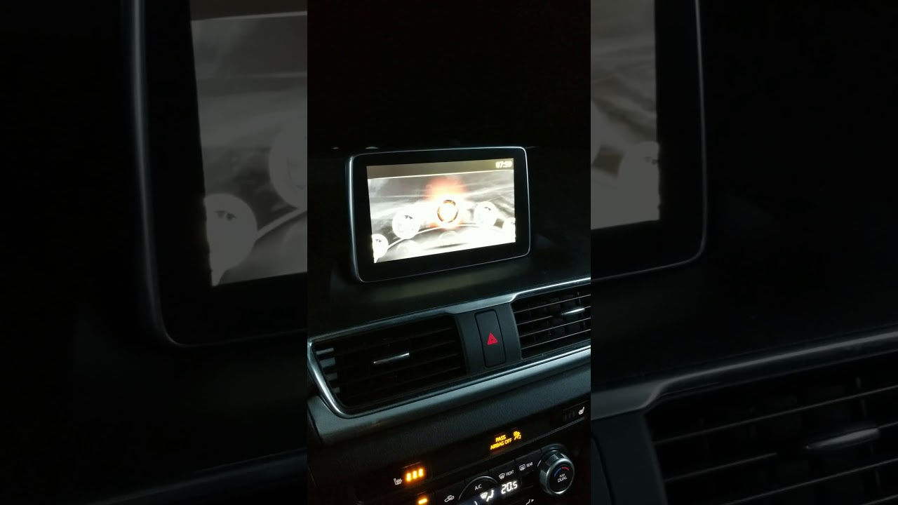 Mazda infotainment system like to restart and restart and restart when it's  cold outside