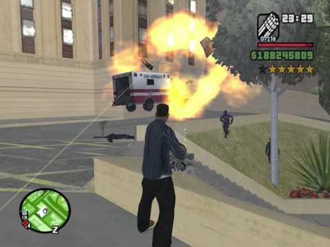GTA San Andreas 6 Star Rampage