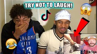TIK TOK TRY NOT TO LAUGH CHALLENGE vs Corey Campbell