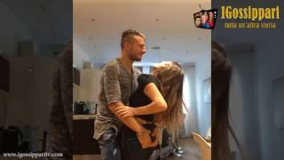 Ciro Immobile ballo sexy con la moglie Jessica Melena