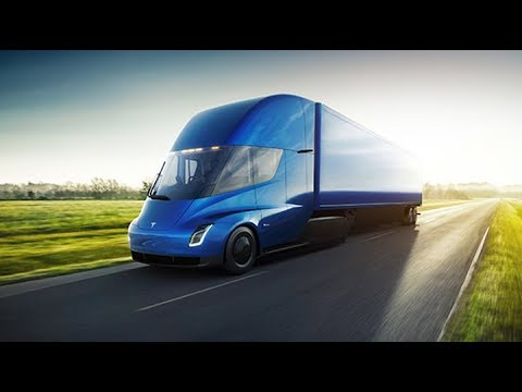 Tesla's New Electric Truck and Roadster