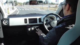 【試乗動画】【後編】新型アルト 2014 suzuki alto test drive