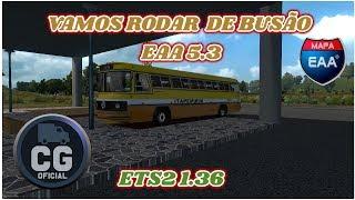 Gambar cover VAMOS RODAR DE BUSÃO EAA 5.3 ETS2 1.36   #RUMO 4K TMJ
