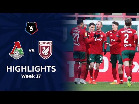 Lokomotiv Moscow Rubin Kazan Goals And Highlights