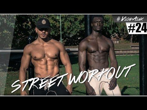 JE PASSE AU STREET WORKOUT ! #VlogAlex 24