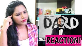 South Indian Reacts To DARD | BABBU MAAN | Latest Punjabi Songs 2019 | New Song 2019