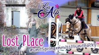 Lia & Alfi - Lost Place mit Lana und Springen kommentiert