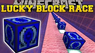 Minecraft: OMEGA UNDERWATER LUCKY BLOCK RACE - Lucky Block Mod - Modded Mini-Game