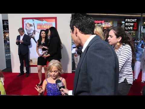 Alyvia Alyn Lind talks Adam Sandler & Drew Barrymore film 'Blended' w Robert Herrera