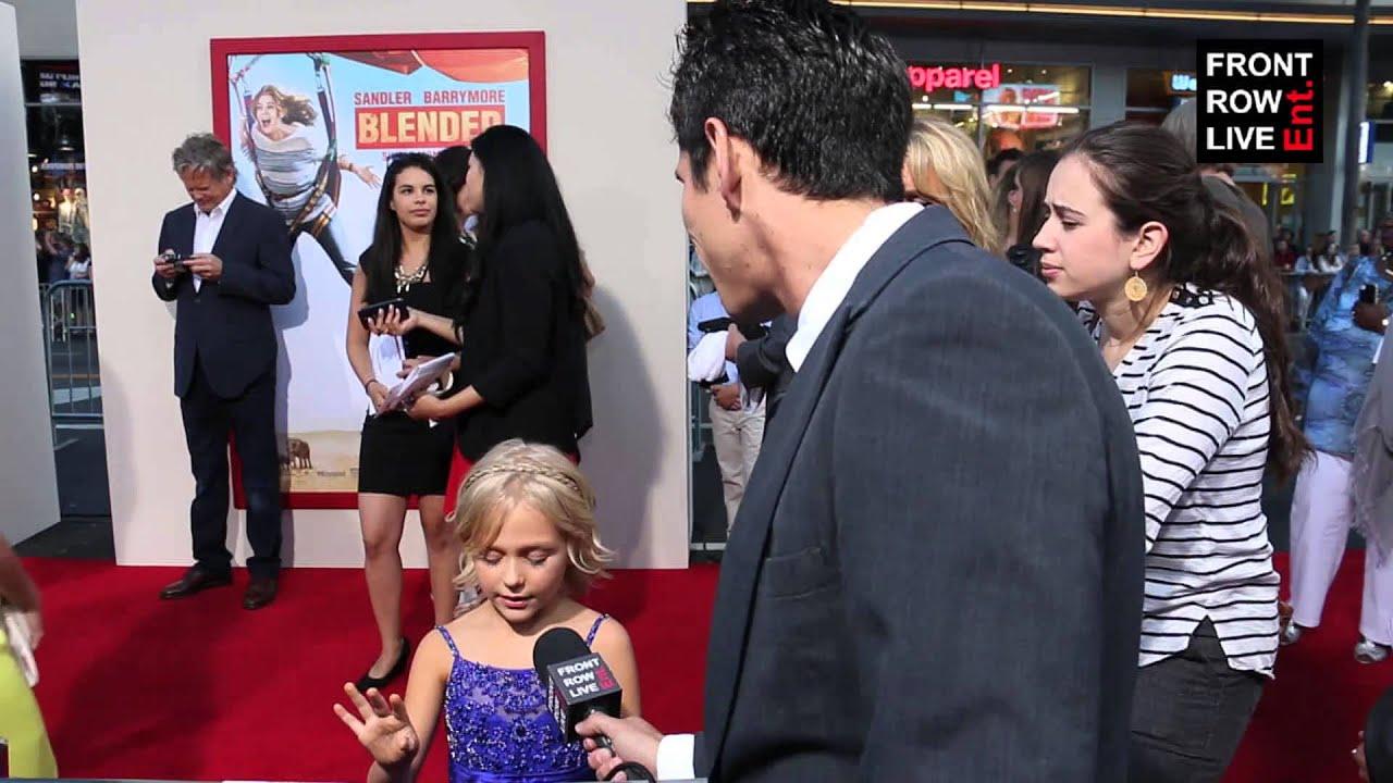 Alyvia Alyn Lind talks Adam Sandler & Drew Barrymore film 'Blended' w/  Robert Herrera