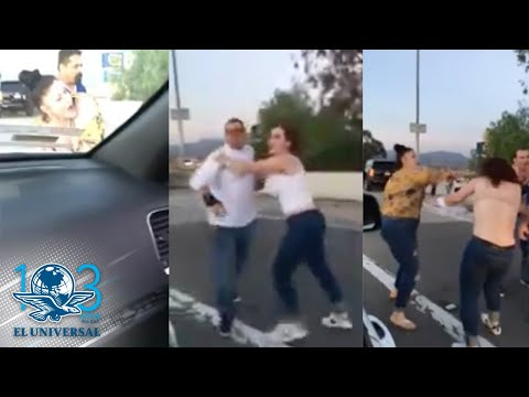 """Pareja Llama """"frijoleros"""" A Latinos Y Desata Pelea En California"""