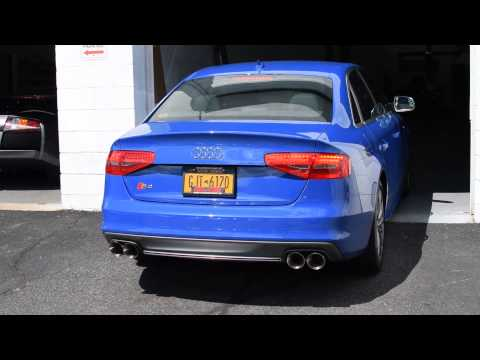 Elite Motorsports | 2015 Nogaro Blue B8.5 Audi S4 With Milltek Non-Resonated Full Exhaust