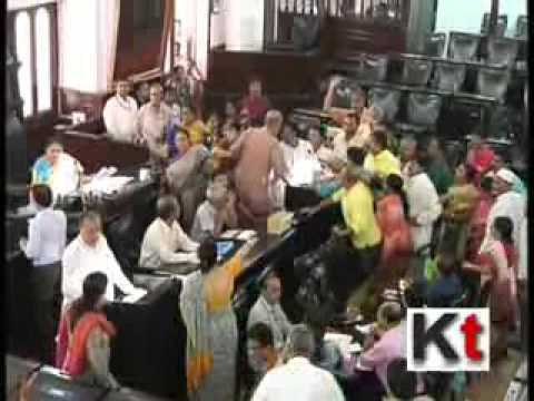 Agitation at Kolkata Municipal Corporation