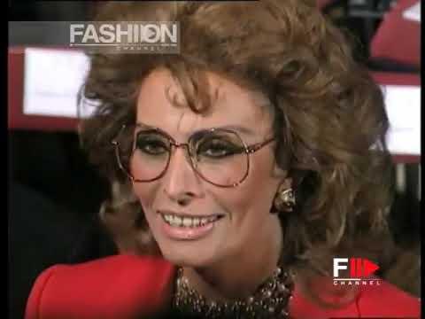 CHRISTIAN DIOR by Gianfranco Ferrè  SS 1995 Make up by Aldo Coppola - Fashion Channel