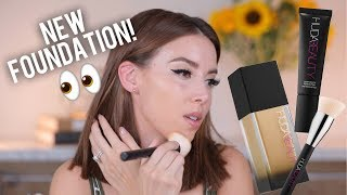 HUDA BEAUTY FOUNDATION WEAR TEST