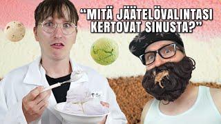 Mitä jäätelövalintasi kertovat sinusta?