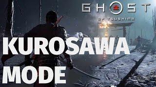Ghost of Tsushima - Kurosawa Mode Gameplay