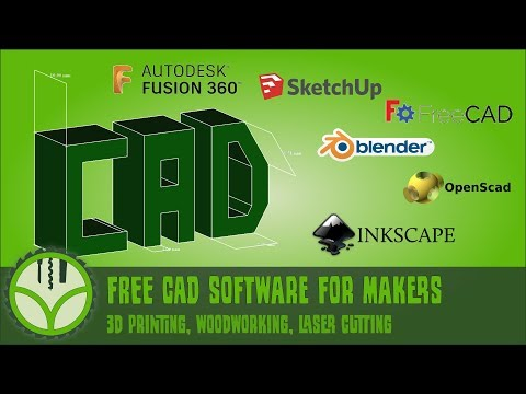 Free CAD For Makers In Woodworking, 3d Printing, CNC And Laser Cutting