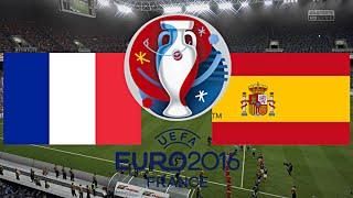 FRANKREICH gegen SPANIEN - EM 2016 FRANKREICH | HALBFINALE ◄FRA #06►