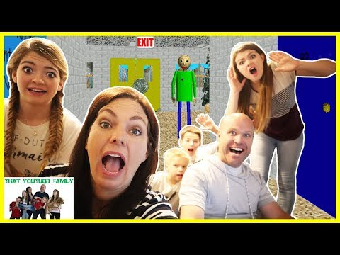 Parents Play Baldi's Basics In Education And Learning Game/ That YouTub3 Family from YouTube · Duration:  15 minutes 50 seconds