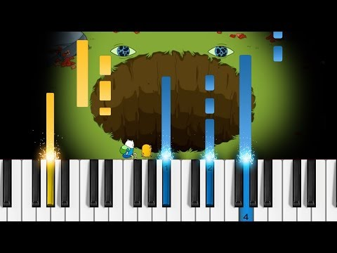 Adventure Time Ending Theme (Come Along With Me / Island Song) - Piano Tutorial