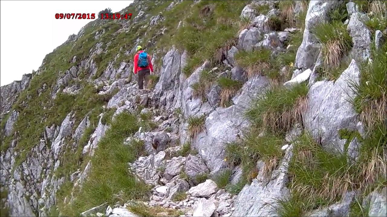 Klettersteig Walchsee : Klettersteig pyramidenspitze zahmer kaiser youtube