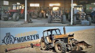 Dzień w GR Mokrzyn ☆ Wiosna 2019 - Orka po Gnojowicy, Bronowanie gliny ㋡ Vlog GoPro