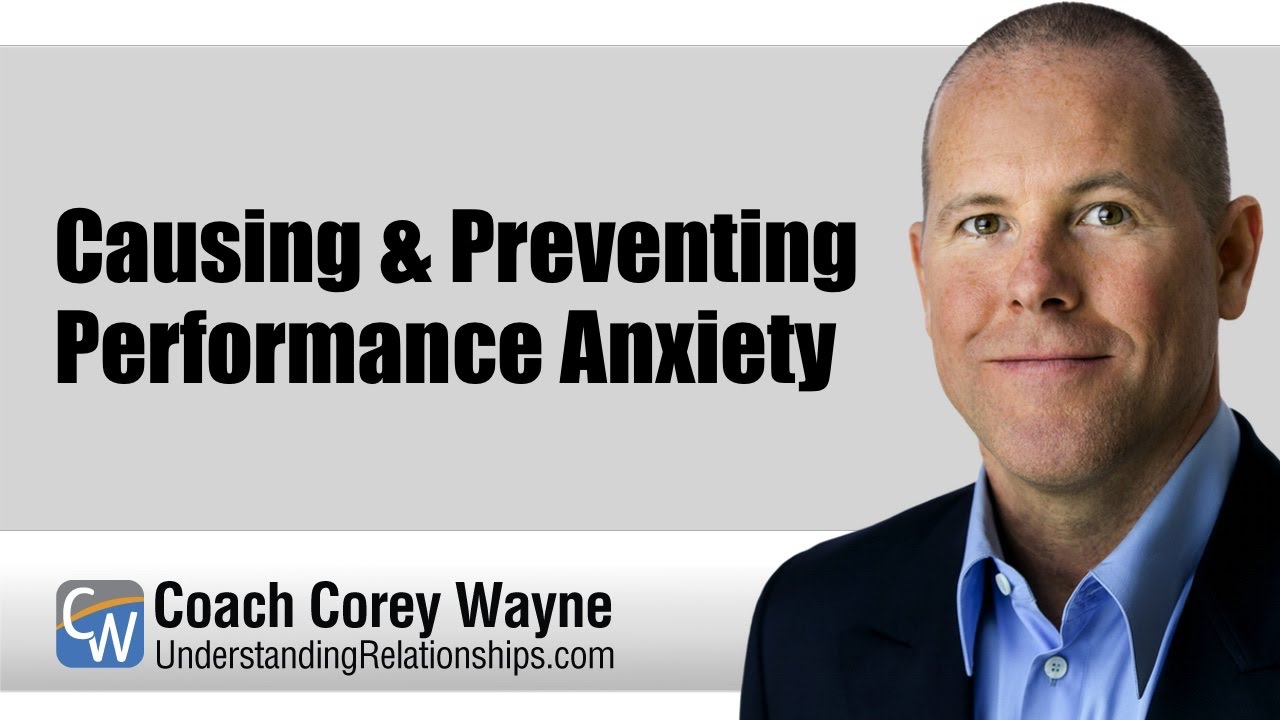 How to get over performance anxiety for men