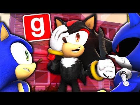 Sonic, Shadow & Metal Sonic Play GMOD MURDER! - MAMA-MARIA!? (Garry's Mod) |