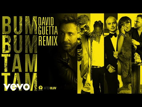 Mc Fioti, J. Balvin, Stefflon Don - Bum Bum Tam Tam (David Guetta Remix)