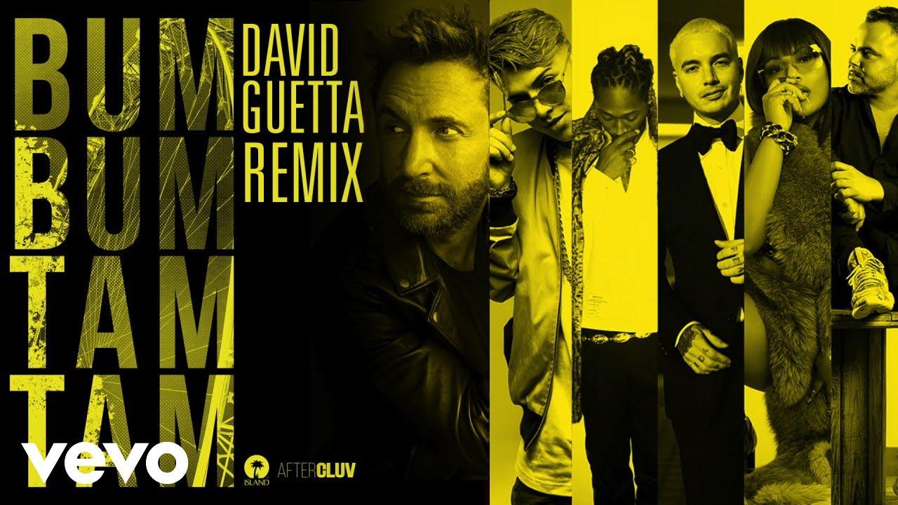 MC Fioti, J  Balvin, Stefflon Don - Bum Bum Tam Tam (David Guetta Remix)