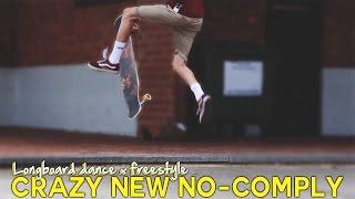 INSANE NEW LONGBOARD NO-COMPLY | DITL 12