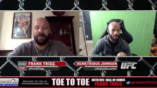 UFC Flyweight Champion Demetrious Johnson: 'I didn't even get hit once'
