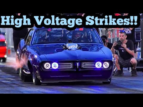 Street Outlaws High Voltage vs Chuck55/ Barefoot Ronnie at Armageddon no prep 2019