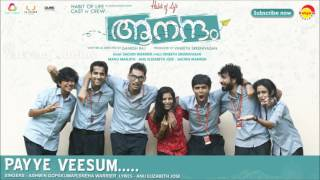 Payye Veesum | Film Aanandam | Music by Sachin Warrier | New Malayalam Songs