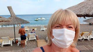 Маски на пляже в Турции Новые ограничения Ультра все включено Justiniano Deluxe Resort 5