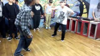 Born to Cypher:Bboy Born uprock battle