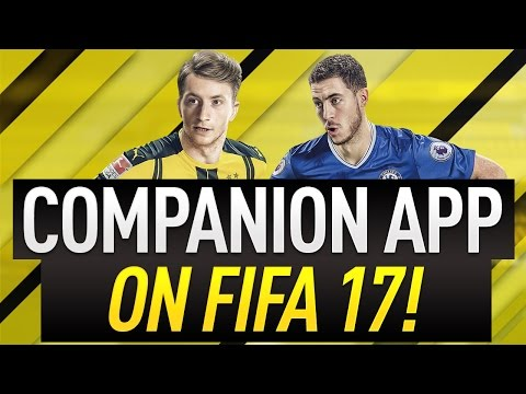 HOW TO DOWNLOAD THE FIFA 17 COMPANION APP! FIFA 17 COMPANION APP IS OUT! (iOS)